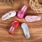 19春秋亲子儿童绣花鞋女童鞋老北京花布鞋 牛筋底防滑学生表演鞋
