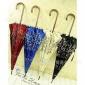 意大利 出口订单 小碎花 长柄伞晴雨伞木柄伞16骨伞