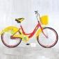 城市公共自行车 城市公共车 自行车租赁系统专用自行车 广告车